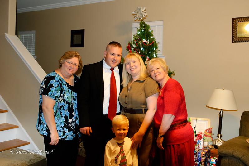 2011 Janet, Logan, Carla, Carol, Will