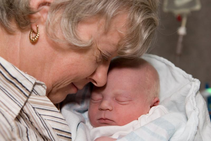 May 6, 2008 Will is born - Carol is so happy