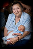 2008-05-21 Elizabeth MacDonald holding her great grandson William Shamus MacDonald