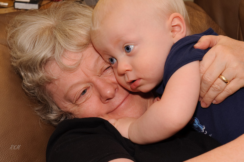 2009 Carol hugging Will
