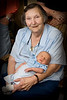 5/21/08, Elizabeth holding her Great Grandson William Shamus MacDonald