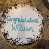 Special Ice Cream Cake to celebrate Will's Graduation