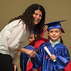 Will receives his diploma from Ms. Stacey
