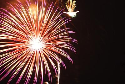 Wilmette Fireworks 7/3/2009