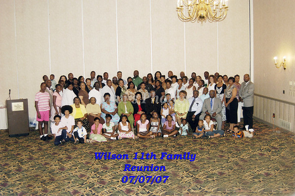 Wilson Family 2007