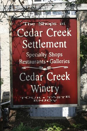 5-27-2012 Trip to Cedar Creek Winery