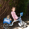Mali and Teddy on her fancy new trike. It's definately a winner, she rides it up and down the driveway all day ;-)