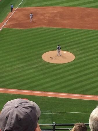C.C. Sabathia pitching for the Yankees