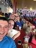 Austin, JaiLeigh, David and Shelia at Babb's Bro's BBQ in Dallas, TX