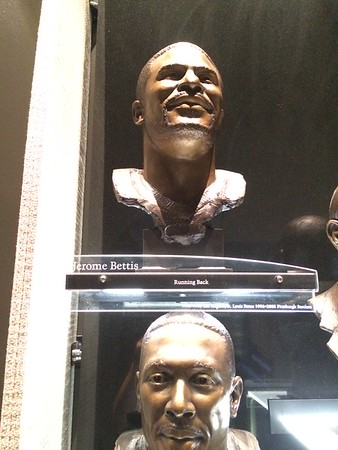 Jerome Bettis Bust