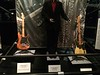 Joe Perry guitar and outfit, Tom Hamilton bass