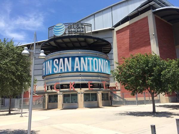 AT&T Center in San Antonio, TX