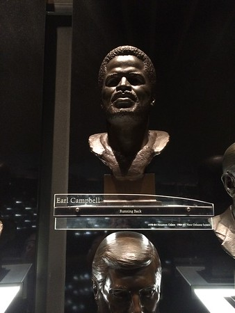 Earl Campbell Bust