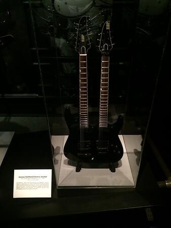 James Hetfield of Metallica guitar