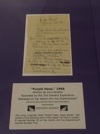 Purple Haze sheet music