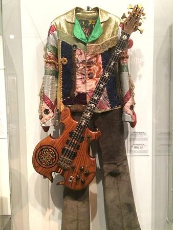 John Paul outfit and guitar