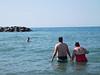 Swimming in Lake Erie