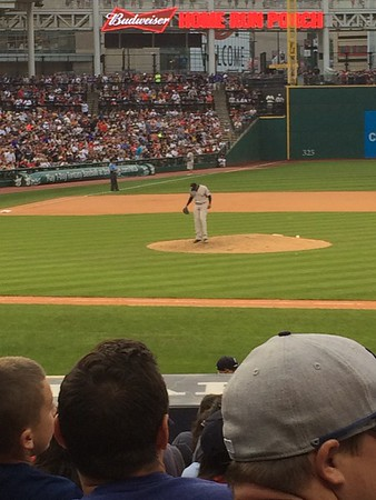 Aroldis Chapman pitching for the Yankees