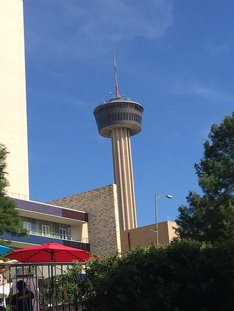 Tower of the Americas in San Antonio, TX