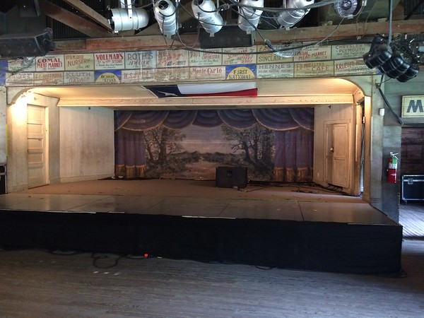 Stage in Gruene Hall