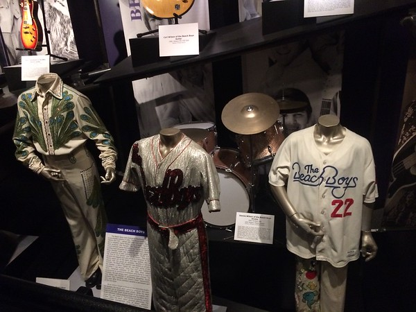 Beach Boys outfits and drum kit