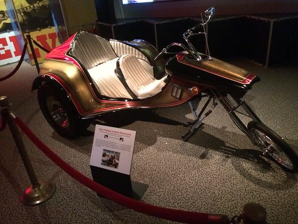 Custom motorcycle for Elvis Presley