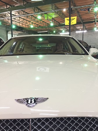 JaiLeigh in a Bentley