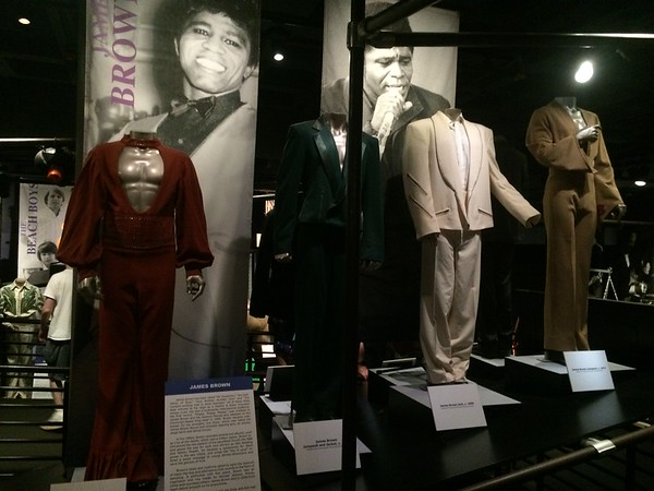 James Brown outfits