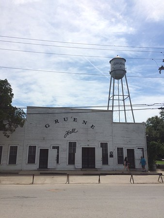Gruene Hall in Gruene, TX. Lots of famous country artists have played here throughout the years. Crazy part is that it's still in use