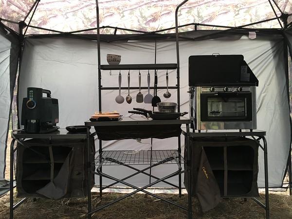 Cal's Cabella Camp Kitchen