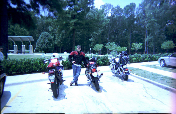 Jim and Dad 2000 wi ride