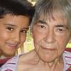 La alegria de mi vida Abuelita y Cesar