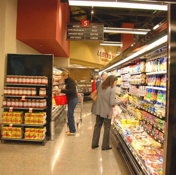 Dairy aisle.