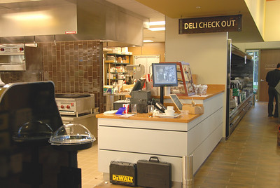 Deli order and check-out area.