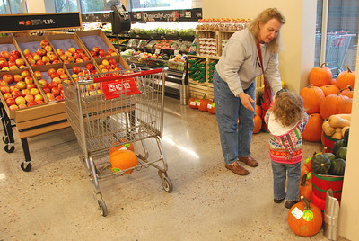 """""""Mom, we need a squash AND and pumpkin."""""""