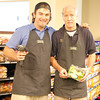 John, left, and Bruce are excited about the new store.