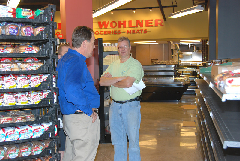 Mike works with the Sara Lee vendors.