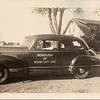 Arthur Karsch in the Woodcliff Lake 1942? Hudson automobile.   This is at the south end of Orchard Street on Woodcliff Avenue.