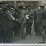 BURY Royal Visit of Edward (VIII) Prince of Wales with World War 1 Veterans RP