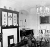 Woodcroft as White Lodge 1950s Dining room looking towards what is now TV