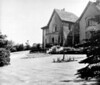 Woodcroft as White Lodge 1950s Front lawn