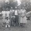 Yvonne, Ramona, Ernie, Camille,, Kathryn, Carmel, Joanne and Jerry