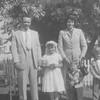 20090112-Harold, Sharon, Carole, Stan and Geo 1953 Sharon's first communion Sacramento-1267SM