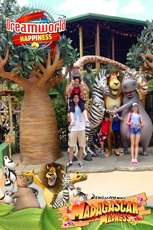 1st day using our world passes at Dreamworld and White Water World