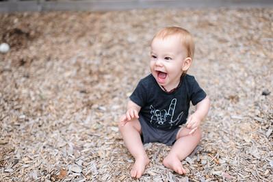 Wyatt 10 months ~ 7 2015 -0219