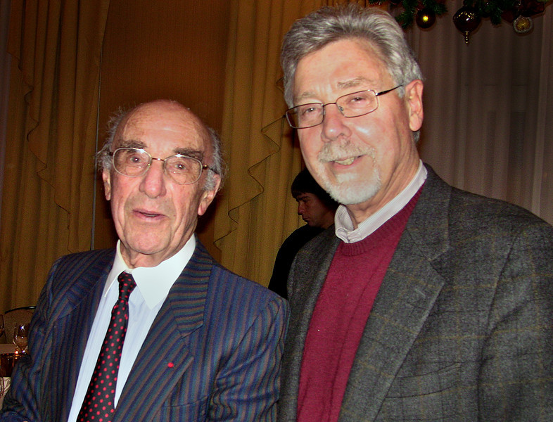 Wylie Vale and Roger Guillemin in this photograph.