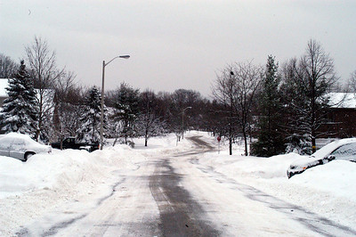 Watson's Lane after the plows