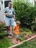 Picnic stuff-- Rob & Xavier