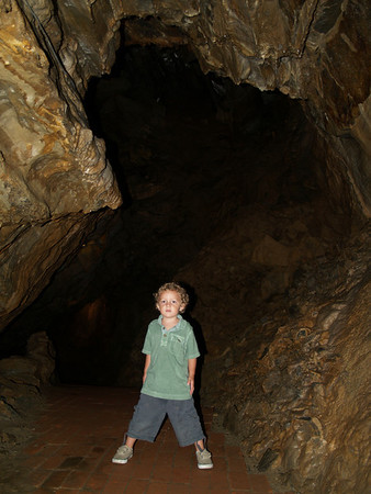 X in the cave