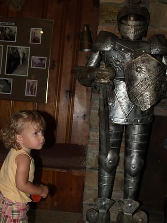 Zara with armor guy